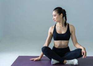 Tham gia yoga mặt